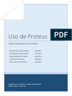 Uso de Proteus Como Herramienta de Diseño