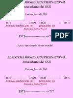 2013 -FINANZAS - Sistema Monetario Internacional II - SESION 2