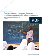 Contemporary Perspectives on Continuing Professional Development