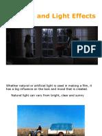 Presentation 2, Part 1 - Film Lighting, Intro