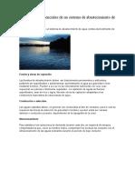 Componentes Esenciales de Un Sistema de Abastecimiento de Agua