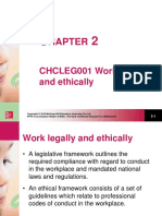 PP CHCLEG001 Into to Work Legally and Ethically (1)