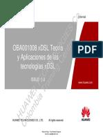 05. OBA001008 Teoría y Aplicaciones de Las Tecnologías XDSL VERSION 1.0