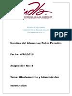Bioelementosybiomoleculas_PabloPazmiño