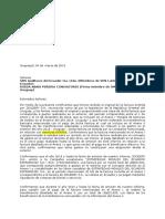 Carta Representacion ESTRATEGIAS Uruguay 2014