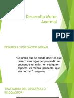 Desarrollo Motor Anormal