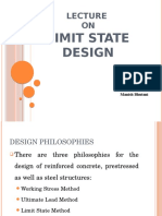 Lecture on Limit State Design by Manish Bhutani