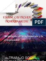 ♥ uso de las tics en trabajo social
