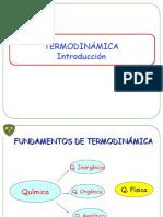 Termodinámica Introducción (1)