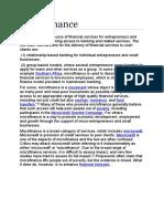 Microfinance Wiki