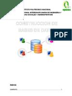 Construcción de bases de datos para una empresa de microbuses
