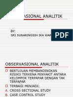 observasional ANALITIK