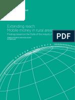 2014 DI Extending Reach Mobile Money in Rural Areas