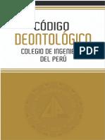 CÓDIGO DEONTOLOGICO