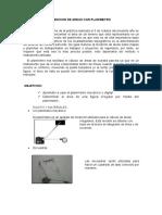 Medicion de Areas Con Planimetro