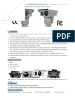 Dual-sensor PTZ Thermal Camera System From Mary-Sheenrun