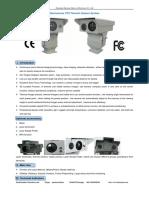 Dual-sensor PTZ Thermal Camera System From Mary-Sheenrun