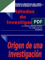 4. Origen de Investigaciòn (1)