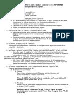 Lineamientos Para Elaborar INFORMES TECNICOS en Los Trabajos de Investigacion 2016