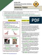 Ergonomics Manual Tools