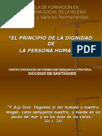 Principio de La Dignidad de La Persona