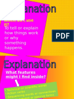 Explanation Text Power Point