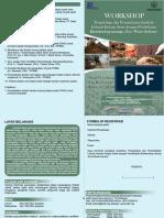 Workshop Pengolahan Limbah di Pusat Penelitian Bioteknologi dan Bioindustri Indonesia