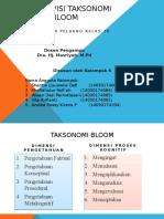1. Taksonomi Bloom Peluang1
