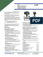 GS AXF Flujómetro Magnético