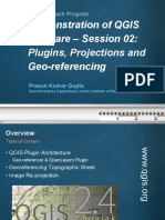 05 Oct 2015 Qgis-edusat-georef-2015-Demo-2-Shri Prasun Kr Gupta