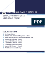 Musyawaroh 5 Unsur_okt16