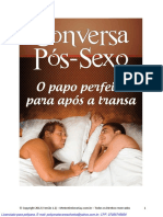 G2 B4 W V12 Conversa PosSexo O Papo Perfeito Para Apos a Transa