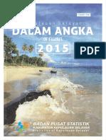 Kepulauan Selayar Dalam Angka 2015