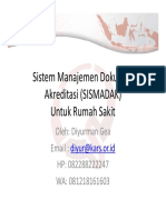 Sistem Manajemen Dokumen Akreditasi