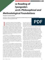 A Heterodox Reading of Jayadeva Uyangoda's Social Research