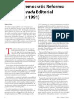 Towards Democratic Reforms - The 1st Pravada Editorial