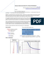 Normal Distribution Tolerance Sample Size Calculator [EDocFind[2][1].Com]