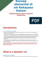 Konsep Fundamental Rekayasa Sistem