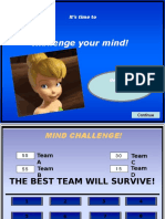 Mind Challenge - Proverbs