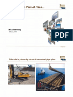 Reducing the Pain of Piles - Fugro Presentation
