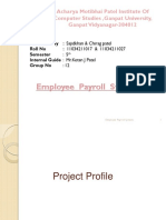 Employee Payroll Management System by Sajidkhan & Chirag Patel