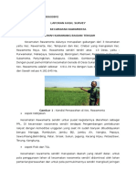 Laporan Hasil Survey Kec. Rawamerta Kab. Karawang