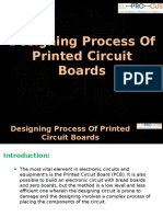 Designing Process of Printed Circuit Boards