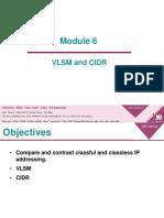 Module 2 6 Vlsm and Cidr