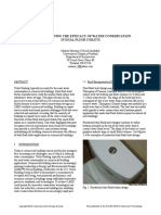 2010 Commercial Dual Flush Toilet Study Harrison