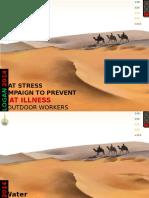 Heat Stress Campaign 2014.Ppt