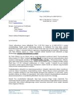 13. 09. 2016 Vihula vallavanema Hannes Naani kiri Tartu Ülikooli kantslerile Andres Liinatile