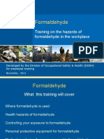 Formaldehyde Training Kit