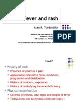 Fever and Rash