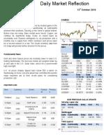 Commodity Market Report 13 Oct 2016